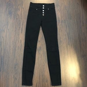 Abercrombie & Fitch Jeans 24x30 High Rise Stretch